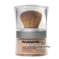 L'Oréal - TRUE MATCH - THE MINERALS - Mineralny Puder Sypki - D4W4 - GOLDEN NATURAL