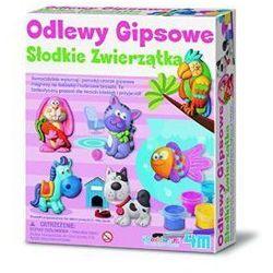 Rovens.pl ODLEWY GIPSOWE SŁODKIE ZWIERZĄTKA - MAGNESY LUB BROSZKI