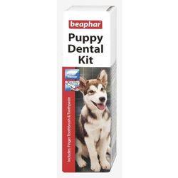 Beaphar Puppy Dental Kit - szczoteczka i pasta do zębów 25g