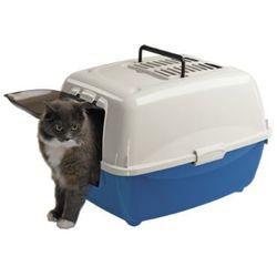 Ferplast Bella kuweta kryta z filtrem węglowym dla kotów