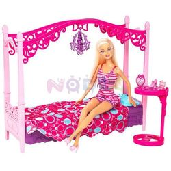 Barbie i czarujące mebelki Mattel (sypialnia)