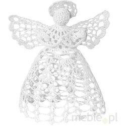 Anioł Z Włóczki Biały