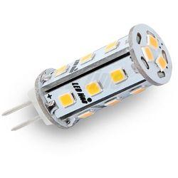 Żarówka LED 18 SMD G4 10~18V AC/DC 3W biała zimna CORN CCD - biała zimna