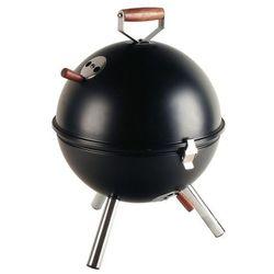Grill okrągły czarny Mini BBQ CO-672054 (śr. 30 cm)