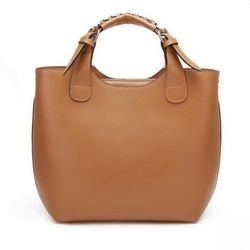 Modna torebka shopper bag Camel