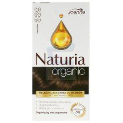 Joanna Naturia Organic Farba do włosów bez amoniaku Kakaowy nr 320