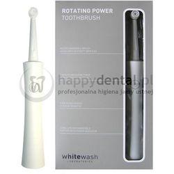 WHITEWASH Rotating Power PRT-1000 1szt. - elektryczna szczoteczka obrotowa do zębów (3 końcówki w zestawie)
