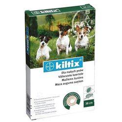 Bayer Kiltix obroża przeciwko pchłom i kleszczom dla psów ras małych, 35cm