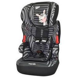 Fotel samochodowy Nania Beline SP 2014 Zebre 9-36 kg Czarna/Szara