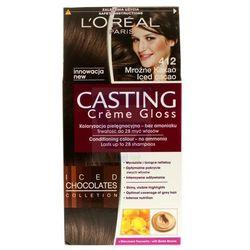 Loreal Paris Casting Creme Gloss Farba do włosów bez amoniaku Mroźne Kakao nr 412