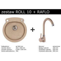 Zestaw ALVEUS ROLL 10 + RAFLO (kolor BEŻOWY)