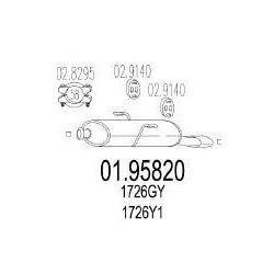 MTS Tłumik końcowy - 01.95820