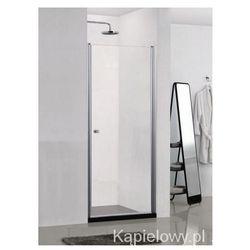 ELEGANCE Drzwi prysznicowe do wnęki 80x195cm N1480
