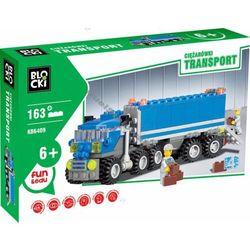 KLOCKI BLOCKI TRANSPORT - CIĘŻARÓWKI 163 EL. TIR
