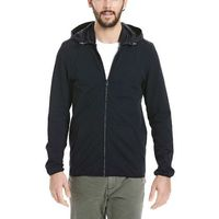 bluza BENCH - Zip Hoodie With Nylon Mix Black (BK022) rozmiar: M