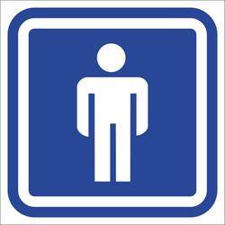 Oznaczenie toalet - WC męski