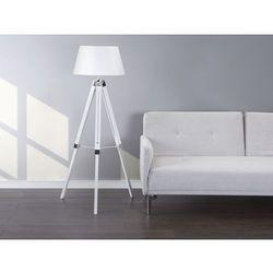 Lampa stojaca biala - lampa podlogowa - oswietlenie - MADEIRA