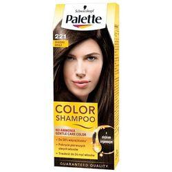 PALETTE Color Shampoo 221 Średni brąz Szampon koloryzujący