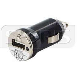 Whitenergy Uniwersalna ładowarka samochodowa 12V z wyjściem USB 500mA - 07858-OEM