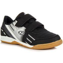 HASBY F1713C czarne buty dziecięce sportowe halowe - czarny