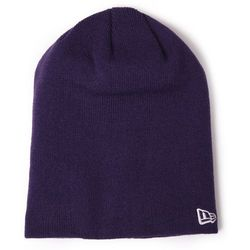NEW ERA CZAPKA NE ORIGINAL BASIC LONG KNIT DEEP PURPLE