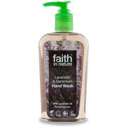 Płyn do mycia rąk z lawendą i pelargonią 300ml - Faith In Nature
