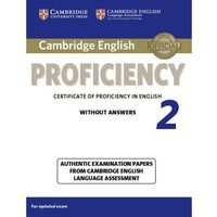 Cambridge English Proficiency 2 Student's Book without Answers (opr. miękka)