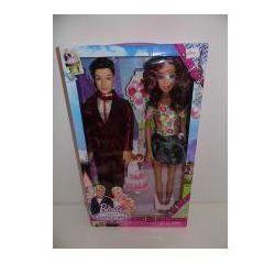Zestaw lalek para młoda Beauty Fashion Girl C4012