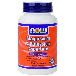 Magnesium & Potassium Aspartate with Taurine - 120 kapsułek