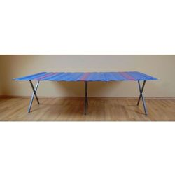 Składany stół do handlu ulicznego długość ok. 2m, wysokość ok. 60cm wzmocniony + wąski blat