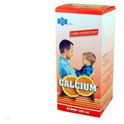 CALCIUM SYROP 150 ML POMARANCZ POLFARMEX