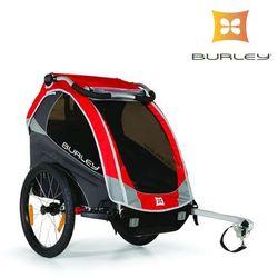 Przyczepka rowerowa Burley SOLO NEW 2016 czerwona amortyzowana