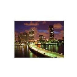 Foto naklejka samoprzylepna 100 x 100 cm - Miami, Zatoki Biskajskiej