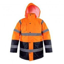 LAHTI PRO Kurtka ostrzegawcza zimowa pomarańczowa, rozmiary S-XXXL (ZNALAZŁEŚ TANIEJ - NEGOCJUJ CENĘ !!!)