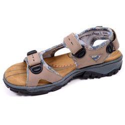Sandały damskie Rieker 68872-25 brązowe