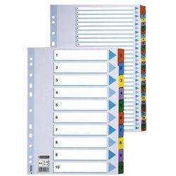 Przekladki numeryczne Esselte Mylar A4/1-31, kolor 100164