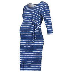 Mama Licious MLSTRIPY Sukienka z dżerseju twilight blue
