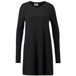 American Vintage CASA GRANDE Sukienka z dżerseju noir