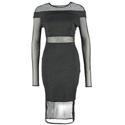 Twin Sister Sukienka z dżerseju black