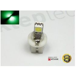 Żarówka Led T5 R5 2x SMD5050 w Oprawce Bx8.5d Zielony