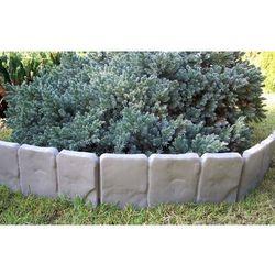 Palisada ogrodowa, krawężnik 2,5 cm szary,