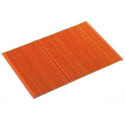 Podkładka Mata Bambusowa Pomarańczowa