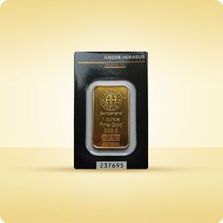 1 uncja Sztabka złota CertiPack