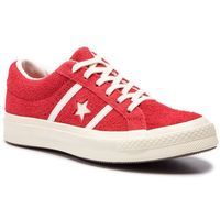 Sneakersy CONVERSE - One Star Academy Ox 163270C Enamel Red/Egret/Egret