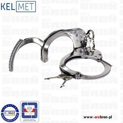 Kajdanki duże szczękowe KEL-MET - stal nierdzewna, norma PN-EN 10088-1, szerokość 49-80mm