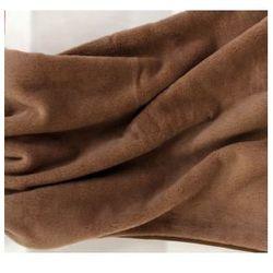 Camel 160x200cm brązowy kołdra wełniana