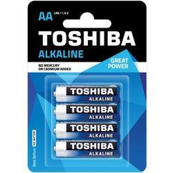 TOSHIBA Bateria Alkaline AA LR6 TOSHIBA LR6 ALKALINE AA
