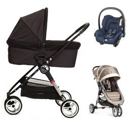 Baby Jogger City Mini+gondola+fotelik (do wyboru)+GRATIS