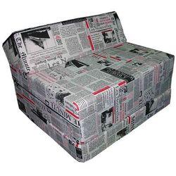 Fotel materac składany 200x70x10 cm - PRESS