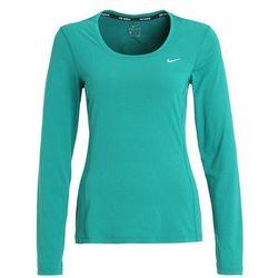 Nike Performance Bluzka z długim rękawem rio teal/reflective silver